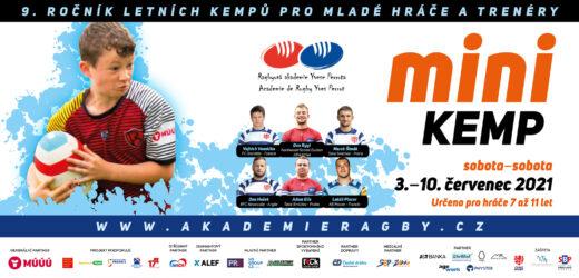 Aktualizovaný program MINI kemp 2021 – Olomouc