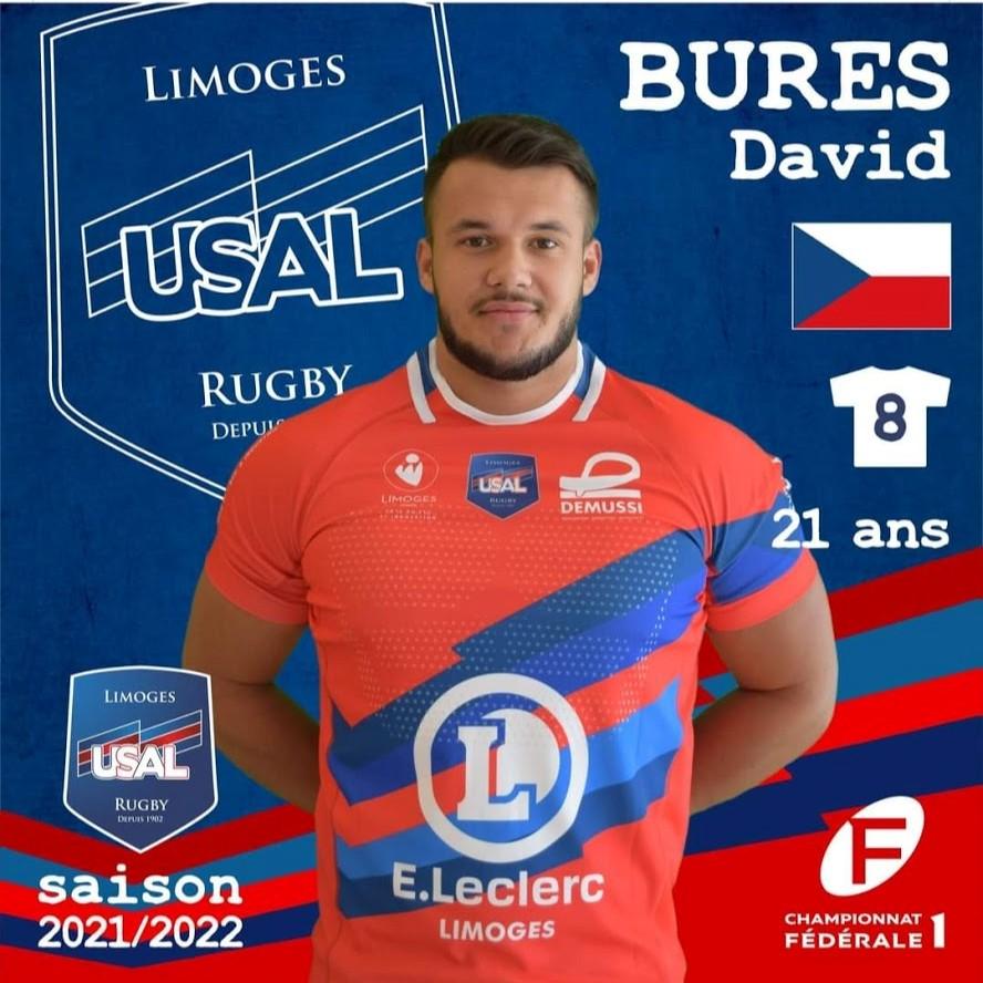 David Bureš, podepsal profesionální smlouvu v Limoges!
